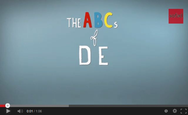 Launch the video The ABCs of DE