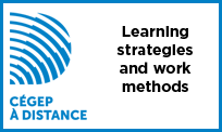 Launch the video Learning strategies and work methods