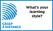 Launch the video What's your learning style?