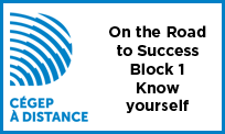 Launch the video On the Road to Success - Block 1 - Know yourself